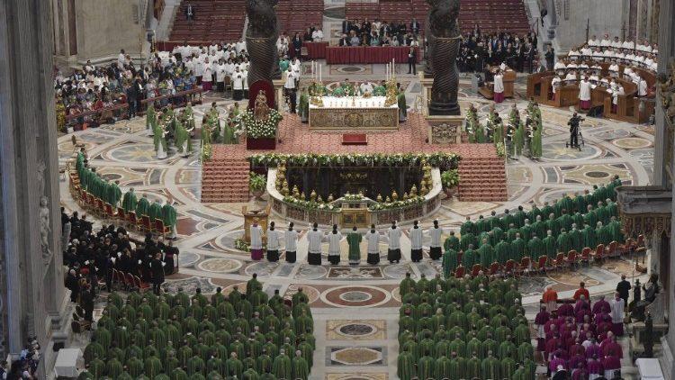 Đức Thánh Cha khai mạc Thượng HĐGM miền Amazzonia