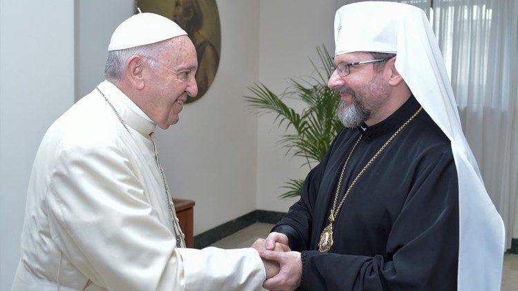 Đức tổng giám mục Shevchuk kêu gọi Nga rút quân khỏi biên giới phía đông Ucraina