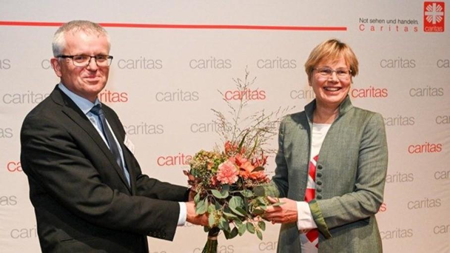 Lần đầu tiên một phụ nữ làm giám đốc Caritas Đức