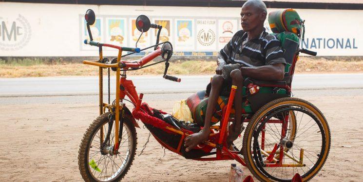Ghana: Xe ba bánh của hy vọng