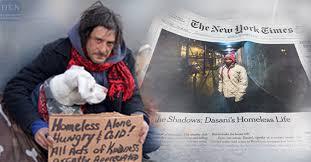 Giả nghèo sống với người vô gia cư,