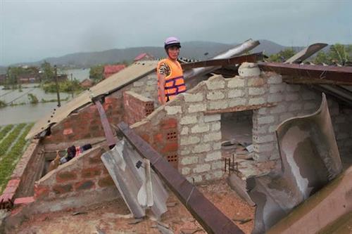 Giáo hội cam kết giúp đỡ nạn nhân của bão