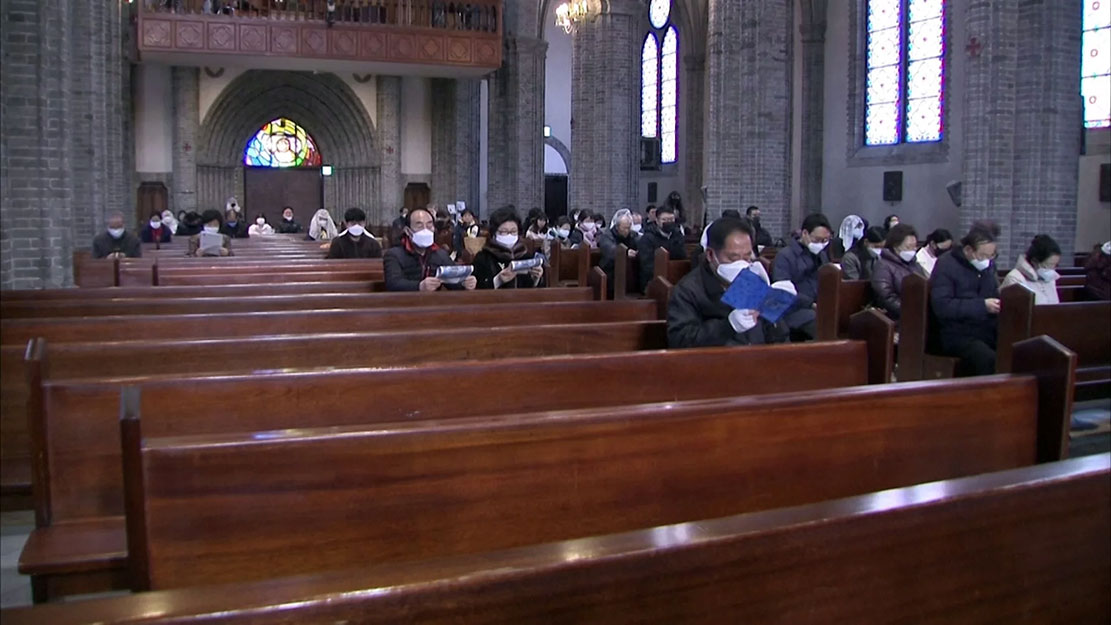 Giáo Hội Công Giáo Nam Hàn quyết định đình chỉ tất cả các Thánh lễ trên toàn lãnh thổ