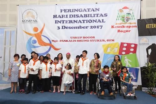 Giáo hội Indonesia phục vụ nhu cầu của người khuyết tật