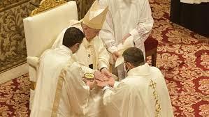 Giáo Hội Toàn Cầu Đức Thánh Cha truyền chức 9 tân linh mục (25.4.2021)