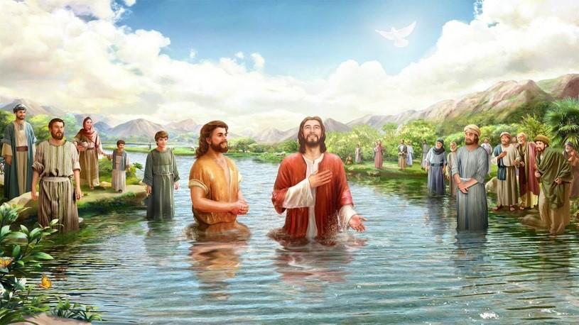 Giáo lý hình ảnh: Chúa nhật Lễ Chúa Giêsu Chịu Phép Rửa - Năm B