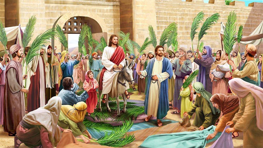 Giáo lý hình ảnh: Chúa nhật Lễ Lá - Năm B