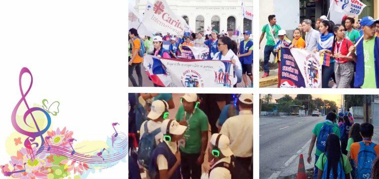 Giới trẻ Caritas biến đức tin thành hành động tại những Ngày Giới trẻ Thế giới