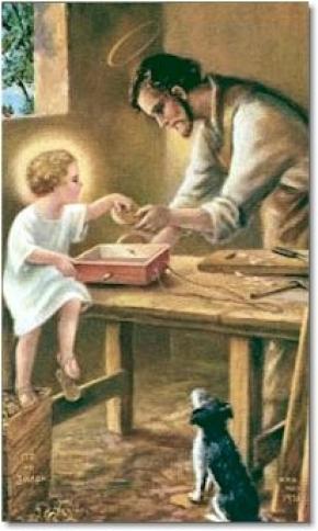 Giuse Trong Xóm Nhỏ khó nghèo