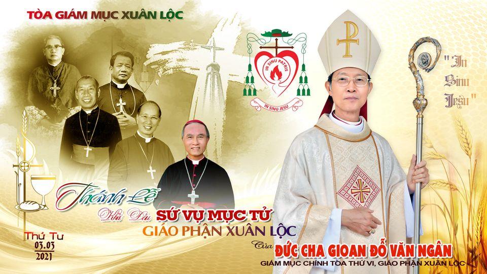 GP Xuân Lộc : Thông Báo về Thánh lễ Khởi đầu Sứ vụ Mục tử của Đức cha Gioan Đỗ Văn Ngân