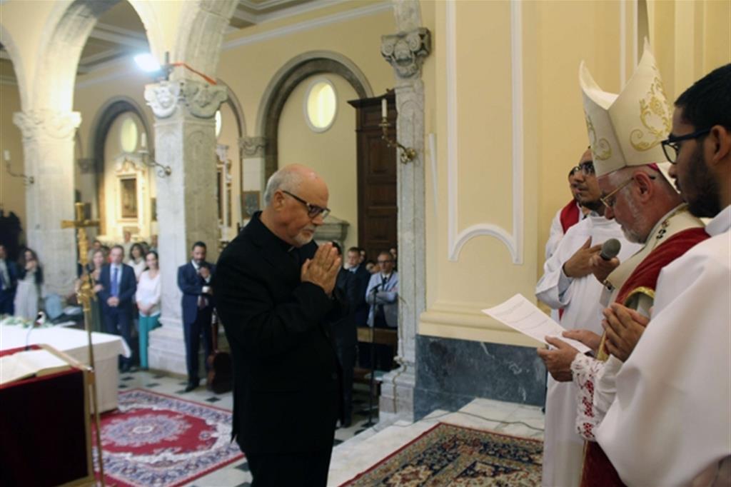 Hành trình ơn gọi của tân linh mục Nicola Pacetta kéo dài 43 năm