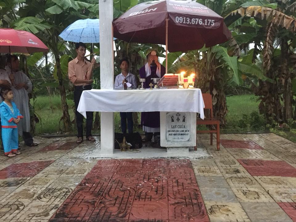 Họ đạo Cây Gòn : Thánh Lễ tại đất Thánh 1 tháng 11
