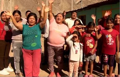 Hơn 198 ngàn gia đình đã nhận được sự giúp đỡ từ Caritas Peru - Bác ái Peru vào năm 2018