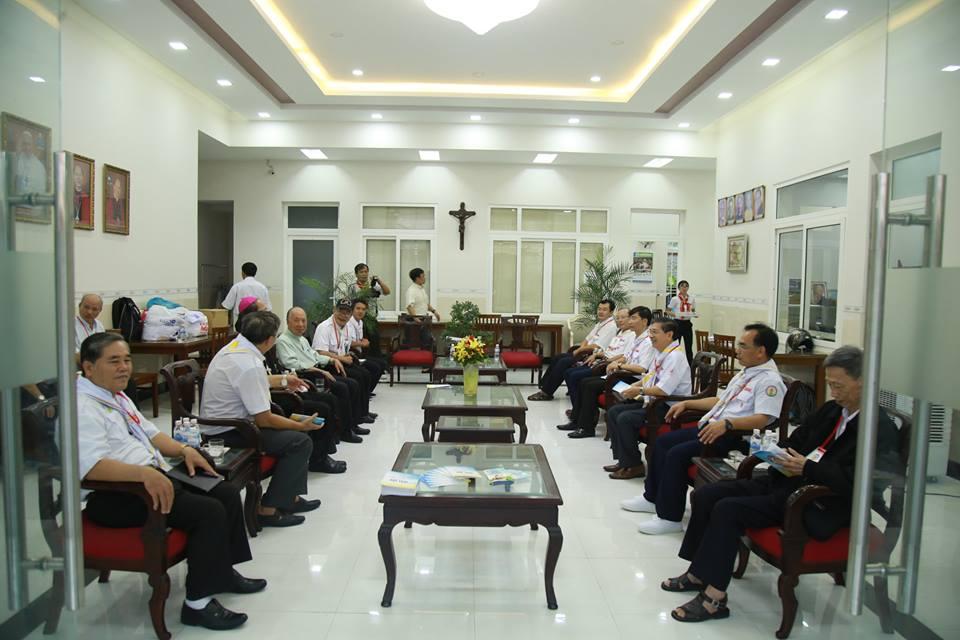 Huynh trưởng Giáo Phận Vĩnh Long tham dự Hội Trại TNTT Giáo Tỉnh Sài Gòn