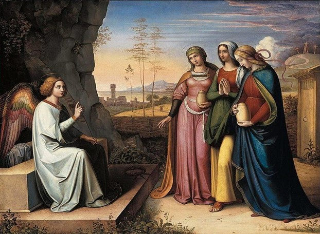 Hy vọng vào Chúa Giêsu, Đấng thực sự chỗi dậy từ cõi chết