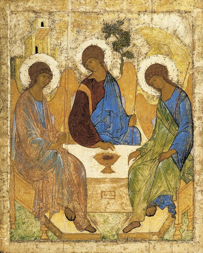 Giải thích bức i-côn Chúa Ba Ngôi của Andrei Rublev