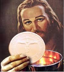 Cách linh mục đọc thầm lời nguyện trước khi rước lễ.