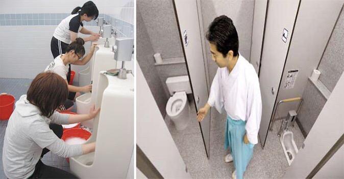 Không chỉ nhân viên mới đi cọ toilet, ở Nhật, Giám đốc cũng phải xắn tay vào làm