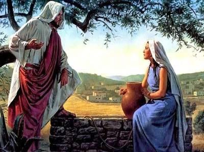 jesusandwomanatwell