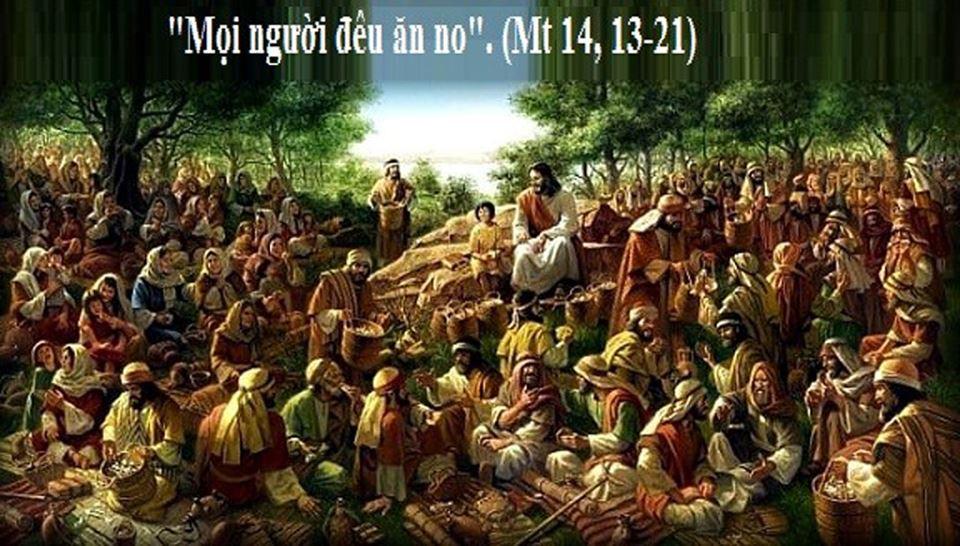 Khi Chúa rộng mở tay ban...