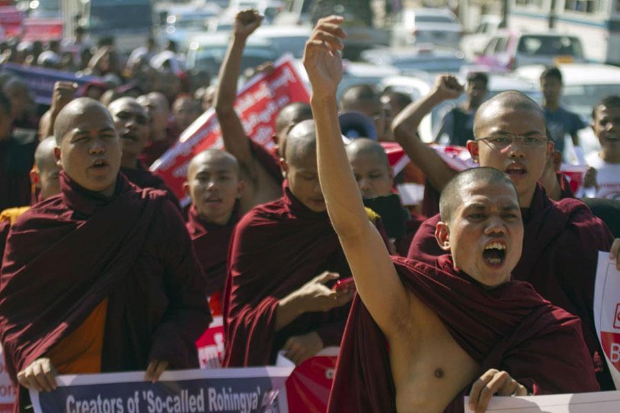 Khuôn mặt bạo lực của Phật Giáo Miến Điện