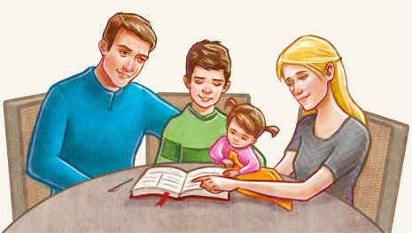 Kinh nguyện gia đình và gia lễ Công giáo