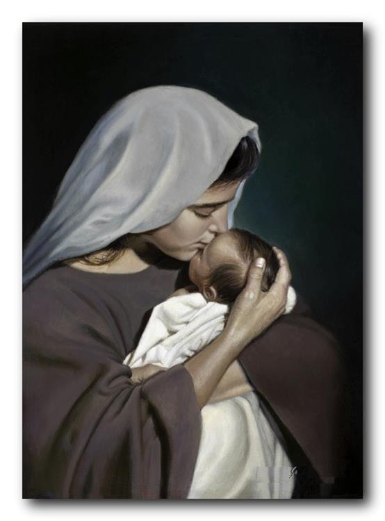 Kinh Tin Kính  Tin Chúa Giêsu sinh bởi Đức Mẹ Maria đồng trinh