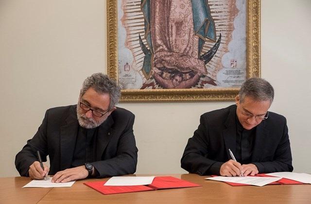 Ký hợp đồng giữa Bộ Truyền Thông và Dòng Tên