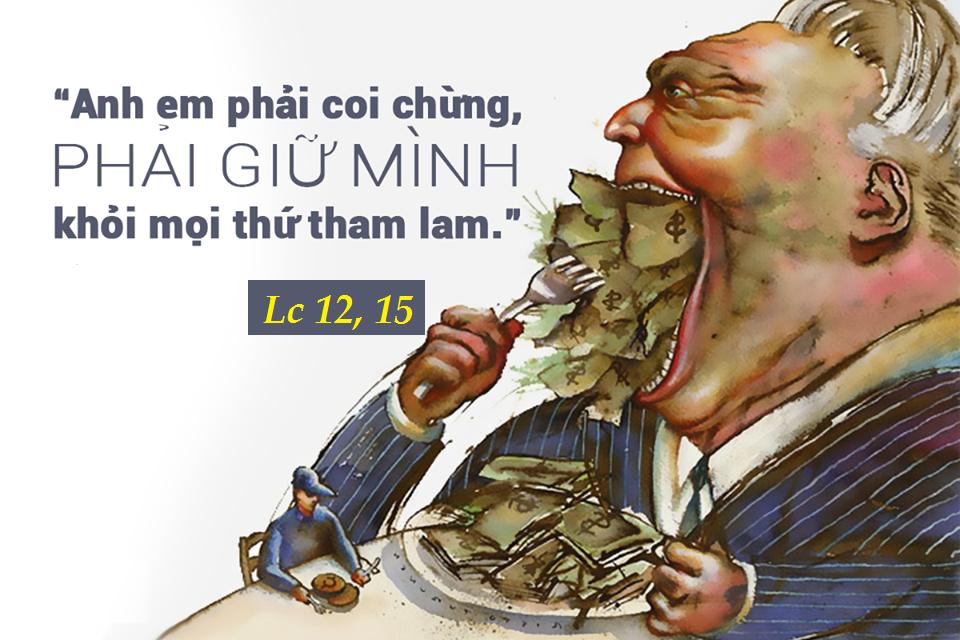 Làm giàu trước mặt Chúa