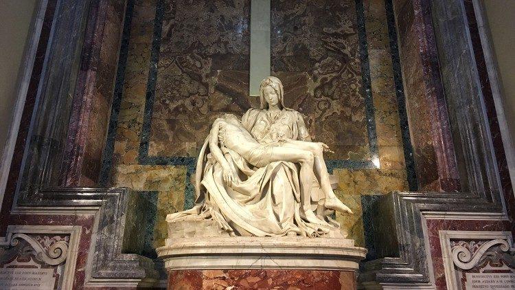 Lần đầu tiên Vatican chọn tác phẩm của Michelangelo in trên đồng xu mệnh giá 10 Euro