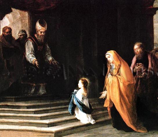 Lễ Đức Mẹ dâng mình vào đền thánh