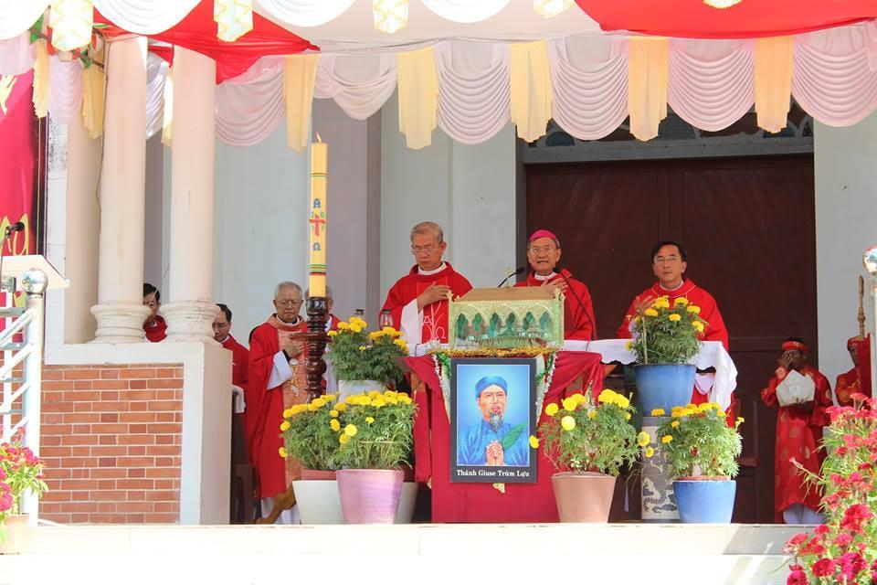 Lễ giỗ lần 163 Thánh Giuse Lựu tại Mặc Bắc