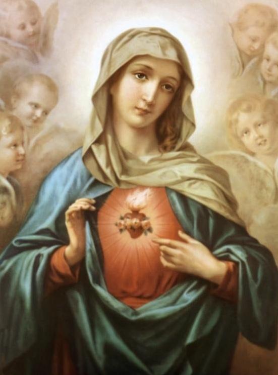 Lễ Trái Tim Vô Nhiễm Nguyên Tội Mẹ Maria