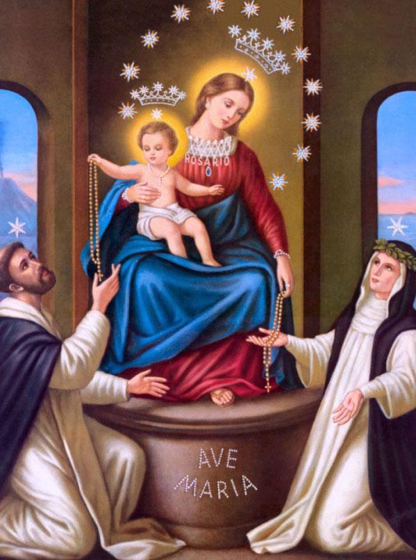 Lịch sử Kinh Mân Côi và lễ Đức Mẹ Mân Côi