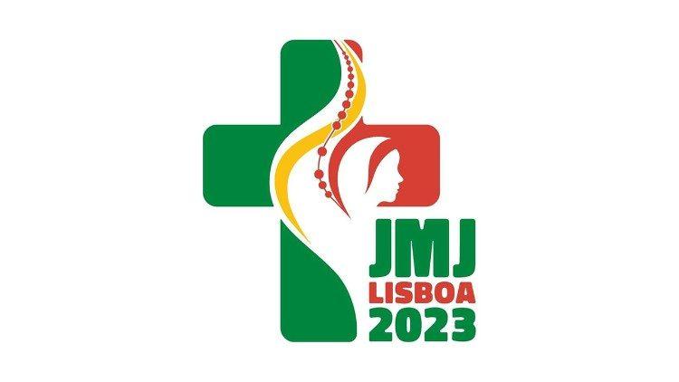 Logo Ngày Quốc tế Giới trẻ năm 2023 tại Lisbon