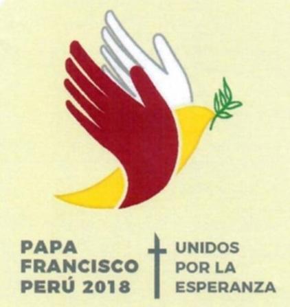 Logo và khẩu hiệu chuyến viếng thăm Pêru của Đức Thánh Cha Phanxicô