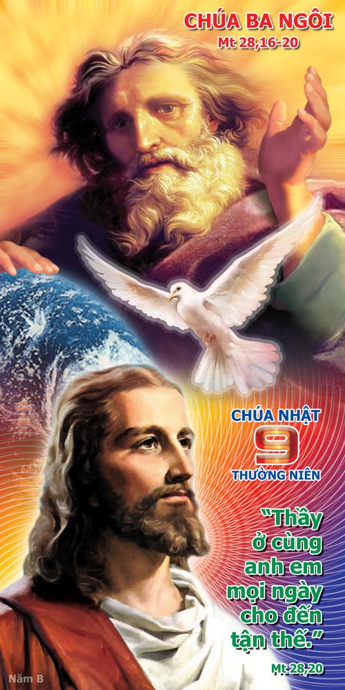 Lời nguyện chung - Chúa nhật Chúa Ba Ngôi
