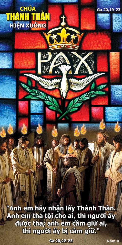 Lời nguyện chung - Chúa nhật Chúa Thánh Thần hiện xuống