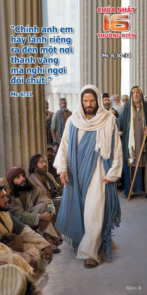 Lời nguyện tín hữu : Chúa nhật XVI TN B