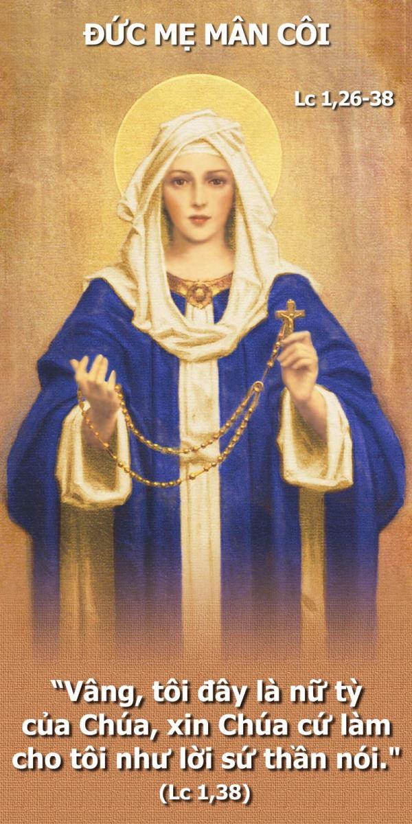 Lời nguyện tín hữu : Lễ Đức Mẹ Mân Côi