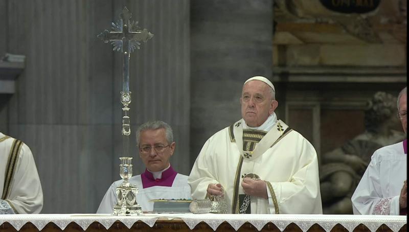 ĐGH Phanxicô tại Thánh lễ Làm phép Dầu: Thuyết giáo quyền bắt đầu với mong muốn thoải mái mà không quan tâm đến người khác