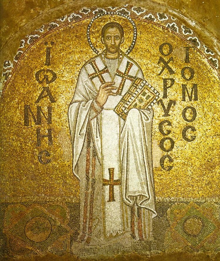Ngày 13/9: Thánh Gioan Kim Khẩu - Giám mục, Tiến sĩ Hội Thánh