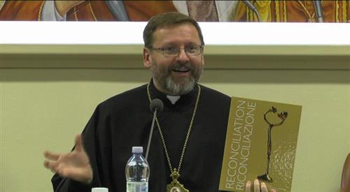 Nhà lãnh đạo Giáo Hội Công giáo Hy Lạp Ucraina trao tặng giải hòa giải Ba Lan - Ucraina.