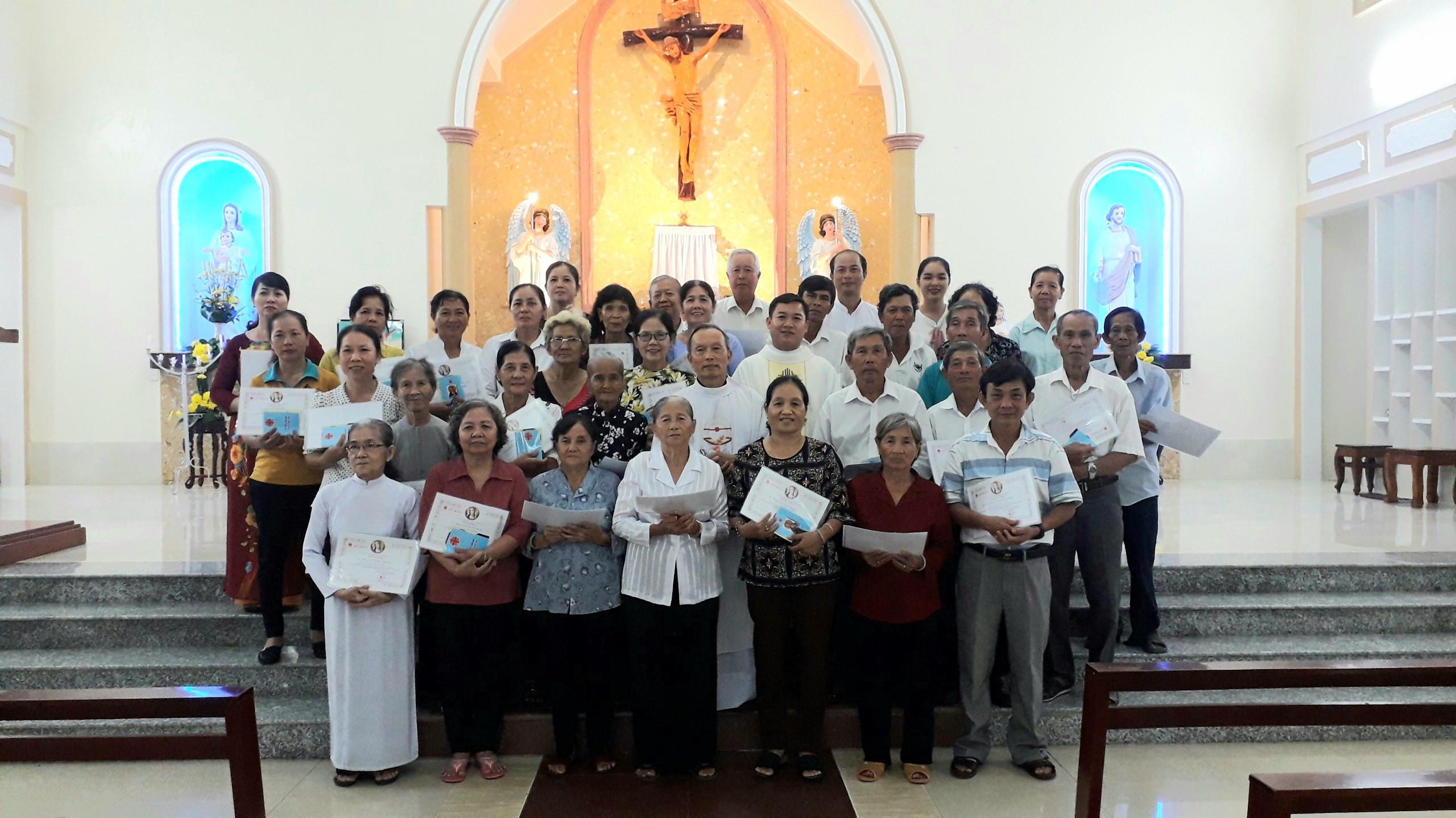 Nhà thờ Cầu Đá: Nghi thức thâu nhận hội viên Caritas