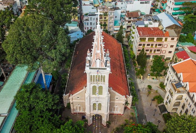 Nhà thờ gần 300 tuổi cổ xưa nhất Sài Gòn