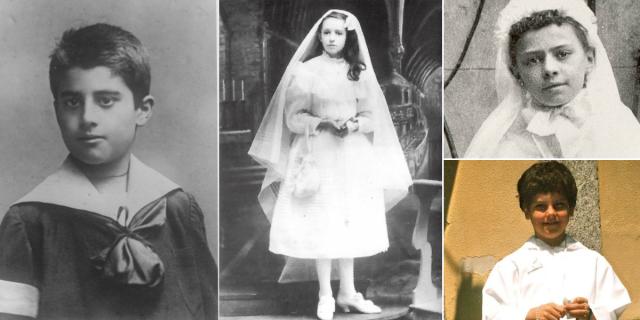 Những bức ảnh kỷ niệm Rước lễ Lần đầu của 12 vị thánh trong thời đại của chúng ta