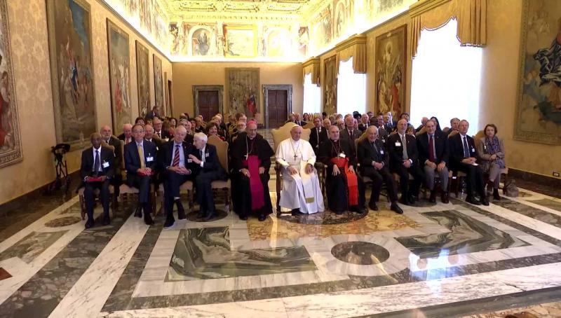 ĐGH Phanxicô nói các nhà khoa học Vatican: Thiếu ý chí để chấm dứt chiến tranh và đầu tư vào công ích