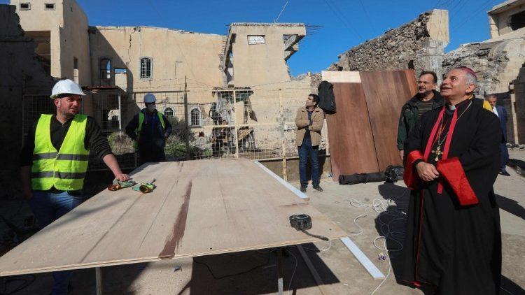 Phái đoàn Tòa Thánh hoàn tất việc chuẩn bị ở Iraq cho chuyến viếng thăm của Đức Phanxicô