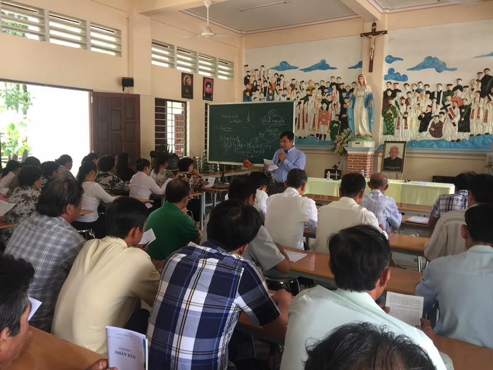 Quới chức hạt Mặc Bắc học giáo lý nâng cao 2017
