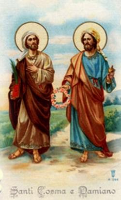 Thánh Cosma và Thánh Đamianô, tử vì đạo